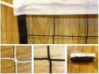 Сетка для волейбола 1х9.5 м (нить 2.6мм) Черная