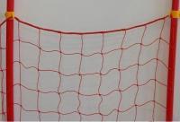 Сетка разграничительная для горнолыжной трассы 1.2х25м (Толщина нити: 2,5 мм) Красная
