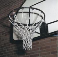 Сетка для баскетбольных колец . Толщина нити: 4.5 мм Белая (пара)