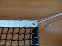 Сетка для большого тенниса 1,07х12,8 м нить 3мм Черная + коуш, подвязки и металлич. трос