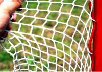 Сетка для хоккейных ворот 1,25х1,85х0,7х1,3 м нить 2.6мм Белая (пара)