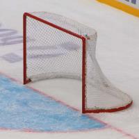 Сетка для хоккейных ворот 1,25х1,85х0,7х1,3 м нить 4мм Белая (пара)