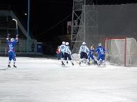 Сетка для хоккейных ворот 3,66х2,14х0,9х1,2 м нить 2.6мм Белая (пара)