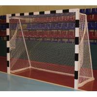 Сетка для хоккейных ворот 3,66х2,14х0,9х1,2 м нить 3мм Белая (пара)