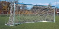 Сетка для футбольных ворот 7,5х2,5х1х2 м нить2.6мм Белый(пара)