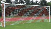 Сетка для футбольных ворот 7,5х2,5х2х2 м нить 5мм Красно-Белый(пара)