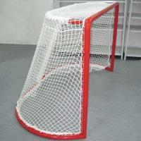 Сетка для хоккейных ворот 2х4.5 м нить 2.2мм черный,(пара)