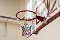 Сетка для баскетбольных колец . нить: 4,5 мм Цвет: триколор (пара)