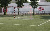 Сетка для мини футбола/гандбола  3х2х1х1,5м нить 5мм Белый(пара)