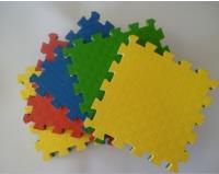 Будо Мат EVA 10мм. 1х1м / цвет:Желтый