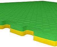 Будо Мат EVA 40мм. 1х1м / цвет:Желто-Зеленый