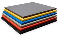 Татами 1х2х0.04м ПВВ/ПВХ, без ткани антислип. 200 кг/м3 Черный