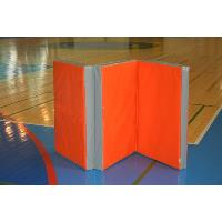 Гимнастический мат 1х2м (в разложенном виде) в 3 сложения. Оранжевый