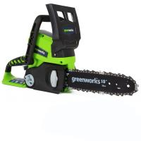 Пила аккумуляторная цепная GreenWorks 25см G24CS25 24V (без АКБ и ЗУ)