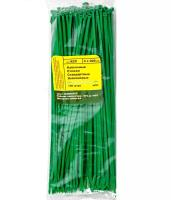 Хомут кабельный (стяжка) 0.4х30см (100 шт/упак) зеленый