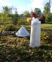 Каркасное укрытие для растений КУ-7 0,8*5м (Белый)