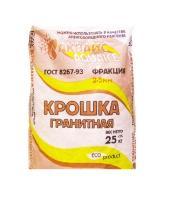Антигололедный реагент - Аквайс Крошка гранитная (25кг)