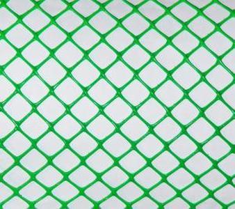 Садовая решетка пластиковая Ф-18 18*18мм 1,6*20м (Зеленая)