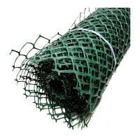 Заборная решетка пластиковая З-70 1,5*25м, ячейка 70*58мм (Хаки)