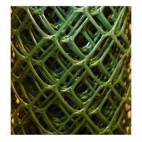 Заборная решетка пластиковая З-70 1,5*10м, ячейка 70*58мм (Хаки)