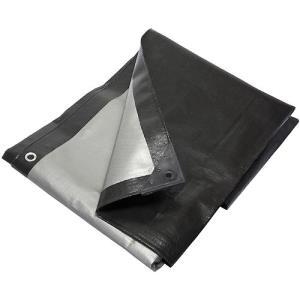 Тент Тарпаулин 3х4м плотность230г/м.кв (черно-белый) (цена за 1 м. кв)