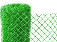 Заборная решетка пластиковая З-40 1,5*25м (Зеленая)