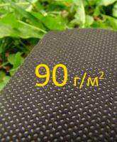 Спанбонд 1,6*12м 90гр усиленный мульчирующий черный с УФ