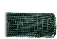 Сетка Quadra 10 1х10 метров (зеленая) ячейка 10х10 мм