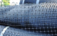 Сетка S 38 (mole-net) от кротов 1х200 метров 1х200 метров (черная) ячейка 12x12 мм