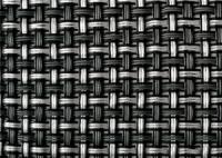 Дизайнерский сеточный экран TEXSTYLE PRIVE 1х25 метров (черная) 700 г/м2