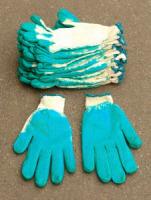Перчатки обливные однослойные, 44г, р.22 , 10 пар