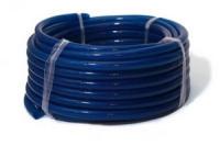 Шланг ПВХ армиров. Тип 1 синий (d 18) (прозрачный) - 50 м