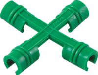 Соединитель-крестовина для парника (по 6 шт. в упак.)