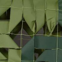 Маскировочная сеть Стандарт ВС РФ  3х3м МС1-3 светло-зеленый/темно-зеленый