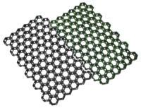 Газонная решетка ГР-2, черный, 680*410*33мм, ячейка 65*70, 4шт/уп
