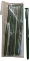 Колышки для бордюрной ленты высота 29см 6шт/уп Хаки