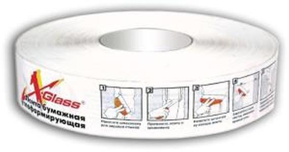 Лента углоформирующая бумажная X-Glass 50мм*50м