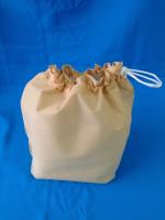 Мешок хоз. белый 0,9*0,5м с завязками пл.45