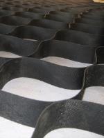 Георешетка для откосов полимерная 2,75х6м черная