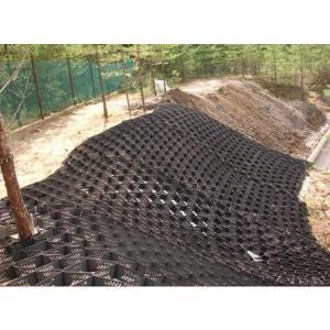 Георешетка объемная трехмерная 2,75х6м черная