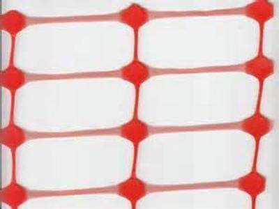 Сетка пластиковая оградительная БАРЬЕР А-95/1/50 оранжевая