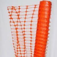 Сетка оградительная сигнальная пластиковая Барьер А-95/1/50оранжевая
