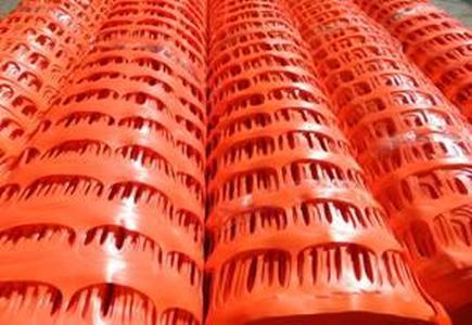 Сетка пластиковая оградительная БАРЬЕР 1х50м (100г) оранжевая