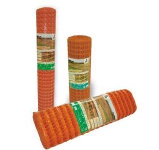 Сетка оградительная сигнальная пластиковая Барьер 1,2х50м (100г) оранжевая
