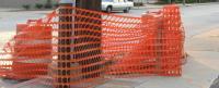 Сетка пластиковая оградительная БАРЬЕР 1,5х50м (140г) оранжевая