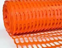 Сетка аварийная «Барьер» 1,5х50м (140г) оранжевая