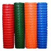 Сетка пластиковая оградительная БАРЬЕР 1,5х50м (140г) синяя