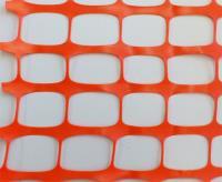 Сетка оградительная сигнальная пластиковая 1,8х50м (150г) оранжевая