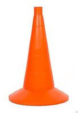 Конус дорожный сигнальный 520мм оранжевый