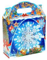 Подарок новогодний сладкий Декабрь 800 гр набор конфет в дизайнерской упаковке + мастер-класс ЕРАЛАШ